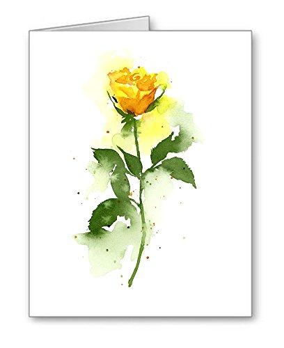 10 Yellow Roses (