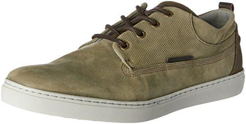Wild Rhino Men Tex Shoes Green (Khaki Nubuck)