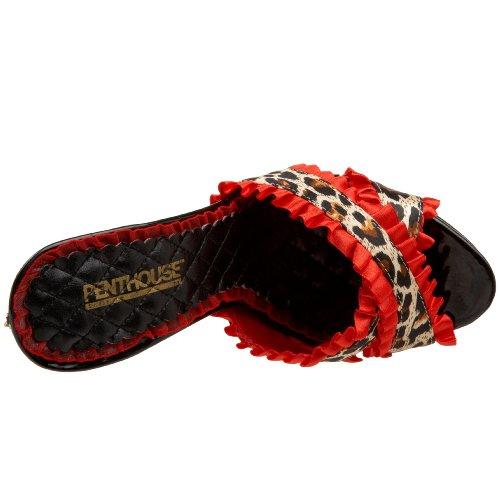 Penthouse Womens Ginger Mule Sandal Red iSgrdzCom