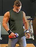 Men's DRI-FIT Microfiber Bodybuilding Stringer Tank
