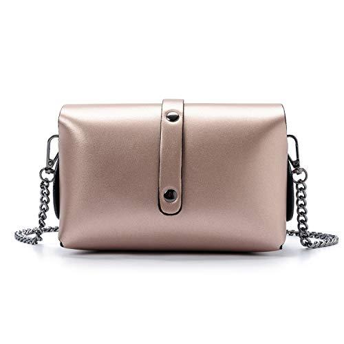 metallizzato piccola in lancetta moda da oro italy tracolla pochette made pochette Ira Valle elegante in rosa tracolla pelle alla modello berlinese Del vera donna con vOwSRqw6
