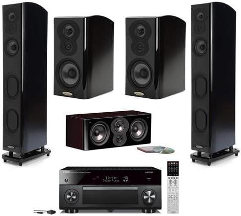 6. Polk Audio Open Box LSiM Five Speaker Home Theater Bundle