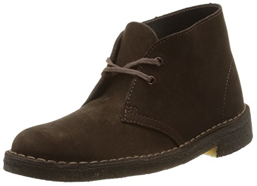 Clarks Brown Sde Desert Boot Stivali Marrone Originals Donna Boots rrqwc10C