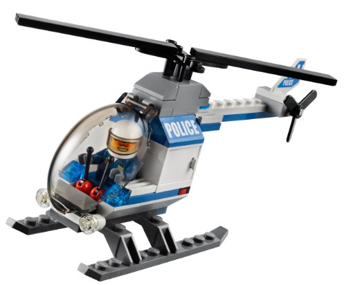 Amazon.com: LEGO CITY Forest Police Station w/ Helicopter & 5 ...