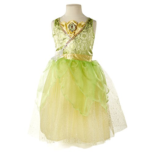 [Disney Princess Tiana Dress] (Princess Tiana Disney Costume)