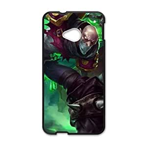 HTC One M7 Phone Case Cover Black League of Legends Singed EUA15989968 Phone Case For Girls Generic
