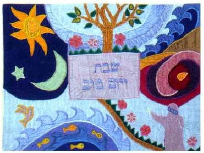 4 years warranty Yair Emanuel - Raw Silk Appliqued Cre the New product type Challa Challah Cover