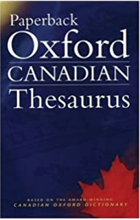 Amazon canadian oxford dictionary 9780195418163 katherine paperback oxford canadian thesaurus fandeluxe