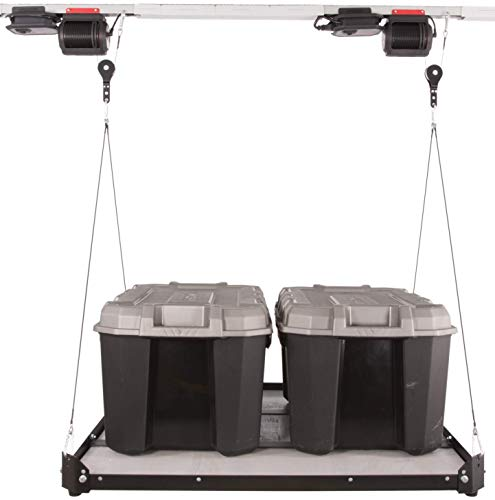 Platform Lifter, 3'x3' Motorized Overhead Garage Storage, Powered by MyLifter ()