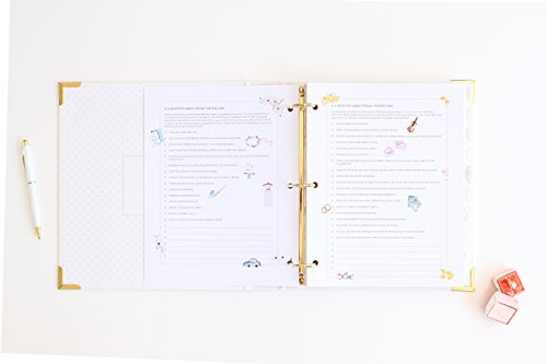 Wedding Day Planner and Organizer by Southern Weddings Import It All