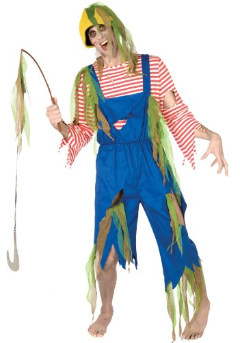 Buy Seasons - Zombie Fisherman Adult (Fisherman Costumes For Adults)