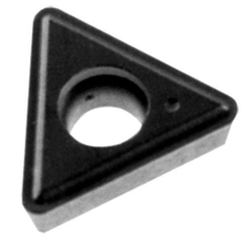 Turning Insert Carbide (Cobra Carbide 41820 Solid Carbide Turning Insert, C550 Grade, Uncoated (Bright) Finish, TT Style, TT 323, 1/8