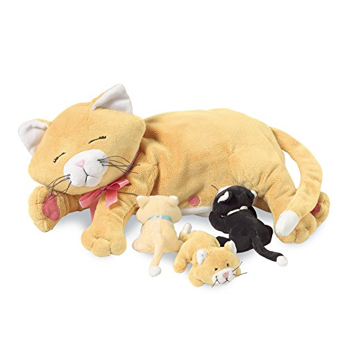 Manhattan Toy Stuffed Plush (Manhattan Toy Nursing Nina Cat Nurturing Soft Toy)