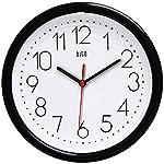 hito 10-Inch Silent Non-ticking Wall Clock