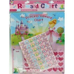 Princess Girls Reward Chart, Birthday, Christmas, Anytime Gift (Cards Christmas Behaviour)