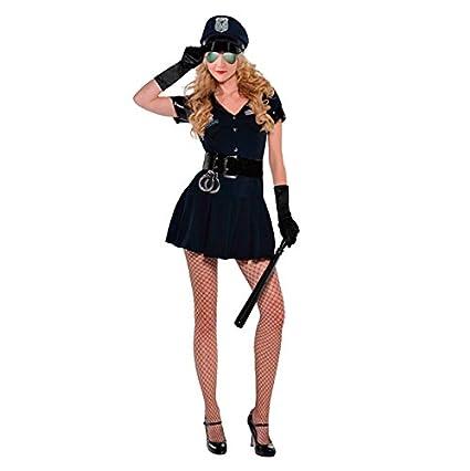 Disfraz Policía mujer para Carnaval: Amazon.es: Juguetes y ...