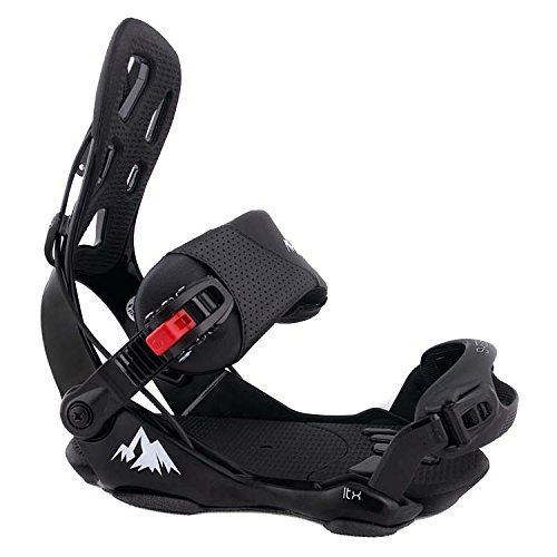 System LTX Men's Rear Entry Flow Style Snowboard Bindings 2020 (Large)