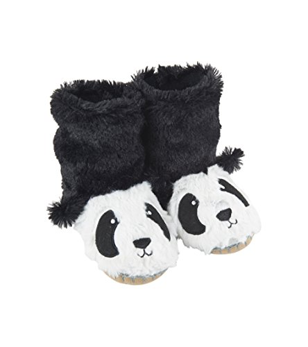 - Little Blue House by Hatley Kids' Toddler Hi-top Slouch Animal Slipper, Panda, Small (5-7)