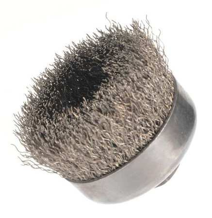 """Crimped Wire Cup Wire Brush, 4"""", 0.020 """""""
