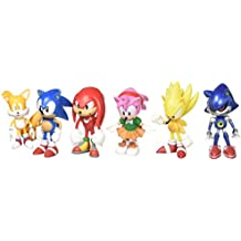 Sonic the Hedgehog Action Figure (6pcs-Set) [Toy]