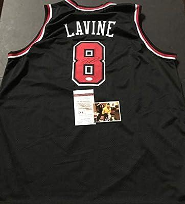 Zach LaVine Autographed Signed Black Custom Jersey JSA WITNESS COA. Zach  LaVine Autographed Signed Black Custom Jersey JSA WITNESS COA 21f7bf4e1