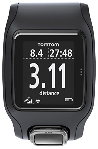 TomTom Runner Cardio GPS HR Watch - black/black, one size TomTom