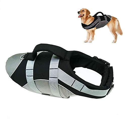 Life Jackets for Dogs - Dog Life Jacket - Dogs Life Jacket - Life Vest Summer Pet Life Jacket Reflective Suit Puppy Harness Rescue Swim Clothing Safety Clothes Swimwear, Sport, Waterproof, Pool. by Flyingpets