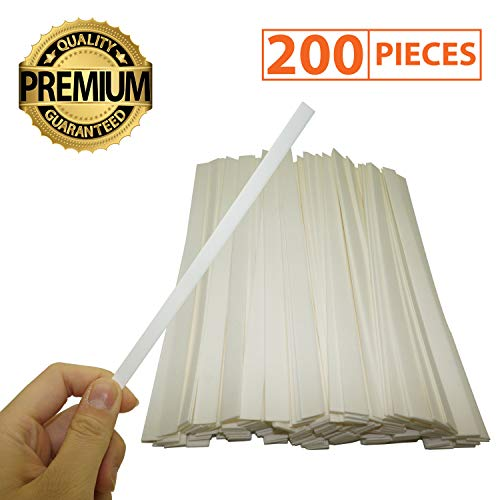 IFAMIO Premium 200 Pcs Perfume Paper Test Strips for Aromatherapy Fragrance Tester Strips for Essential Oil Scent (Fragrance Testing Strips)