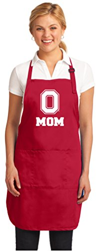 Broad Bay Ohio State Mom Aprons Deluxe OSU Mother Apron ()