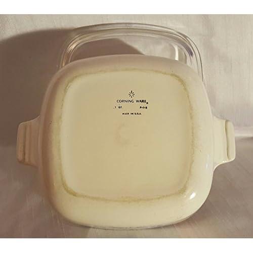 Vintage Corning Ware Cornflower Blue 1 QT Casserole Dish (P-1-B) with Lid
