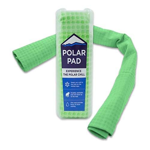 Polar Pad Cooling Towel in Green ()