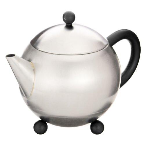 - G&H Tea Services Milo Mayfair Teapot, 28-Ounce, Black