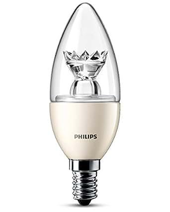 Philips 929000272601 - Bombilla LED vela mate, 25 W, casquillo E14, luz cálida, no regulable