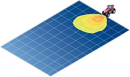 Iluminaci/ón superficie montaje exterior Conector: AMP Ultra Beam HELLA 1GA 007 506-081 Faro de trabajo suspendido//de pie H3-12V//24V FF//Hal/ógena