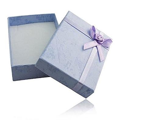 Primi pajarita brazalete soporte lavanda Accent cartón Cajas regalo casos: Amazon.es: Hogar