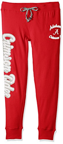 (NCAA by Outerstuff NCAA Alabama Crimson Tide Juniors Boyfriend Jogger, Victory Red, X-Large(15-17))