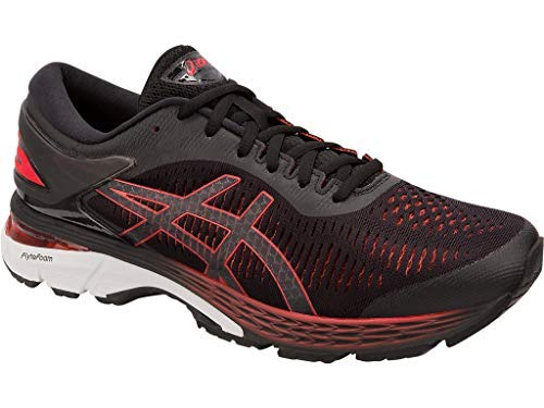 ASICS Gel-Kayano 25 Men's Running Shoe, Black/Classic Red, 7 D US by ASICS (Image #2)