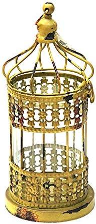 Vintage Birdcage Style Candle Lantern