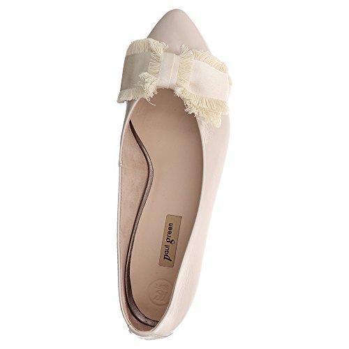 Klassischer Damen Lackleder Lederfutter mit 022 aus 2402 Ballerina OzZwq