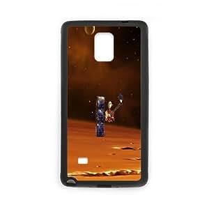 Tyquin Space Satellite Samsung Galaxy Note 4 Case, {Black}