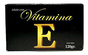 Amazon.com: Jabón Con Vitamina E/vitamin E Soap Cont.net. 120g ...