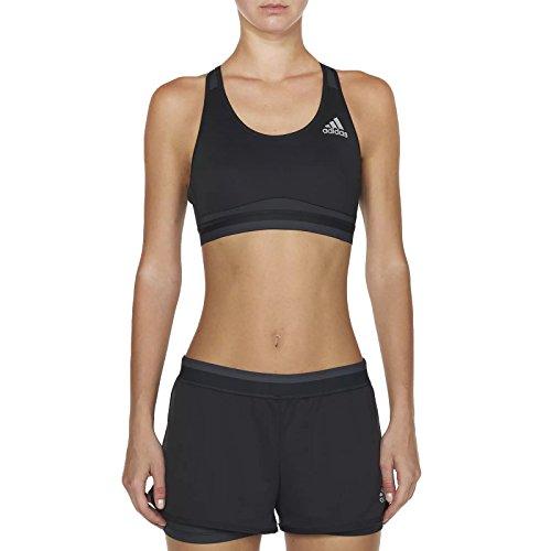 adidas Techfit Climachill Women's Running Bra - SS16 - X Large - Black ()