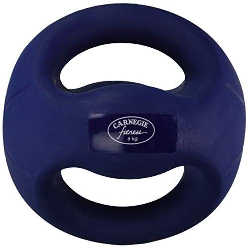 Carnegie 6kg médecine ball avec poignées Fitness Poids Ballon la musculation