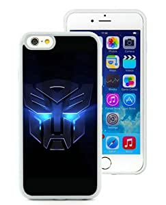 Autobots transformers White TPU Case Cover for iPhone 6 (4.7 inch) Grace and Cool Design