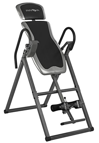 Innova ITX9600 Heavy Duty Inversion Table with Adjustable Headrest and Protective Cover, One Size (Best Back Stretches For Back Pain)