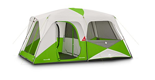Columbia Pinewood 10 Person Dome Tent (Fuse Green)  sc 1 st  C&ing Companion & Columbia Pinewood 10 Person Dome Tent (Fuse Green) - Camping Companion