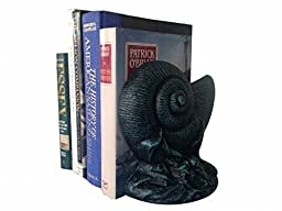 Handcrafted Model Ships 2-k-49008-seaworn 8 in. Cast Iron Nautilus Book Ends, Set Of 2 - Seaworn Blue