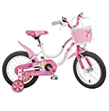 &Baby Stroller Children's Bicycle Female Princess Car Girl 3-8 Years Old Baby Carriage (Size : C)