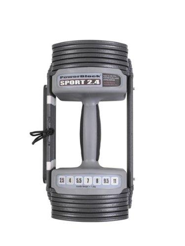 Power Block GF-SPDBLK24 Adjustable SpeedBlock Dumbbells (Pack of 2), Black, 24lb. by POWERBLOCK (Image #3)