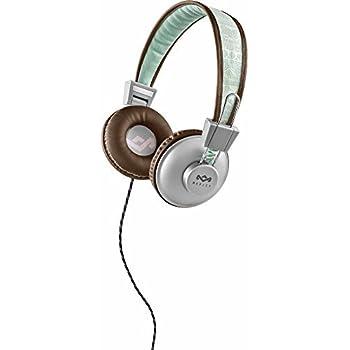House of Marley EM-JH011-AQ Positive Vibration On-Ear, Aqua